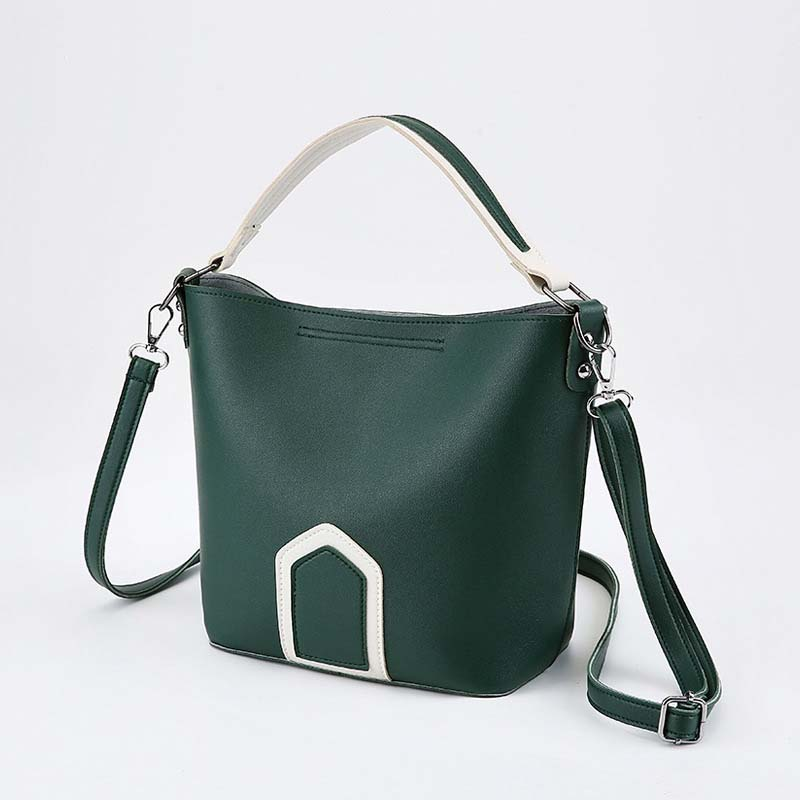 Luxury Brand Tote Bag Contrast Color PU Leather Shoulder Bag Famous Designer Women Handbags Small Square Bags 3