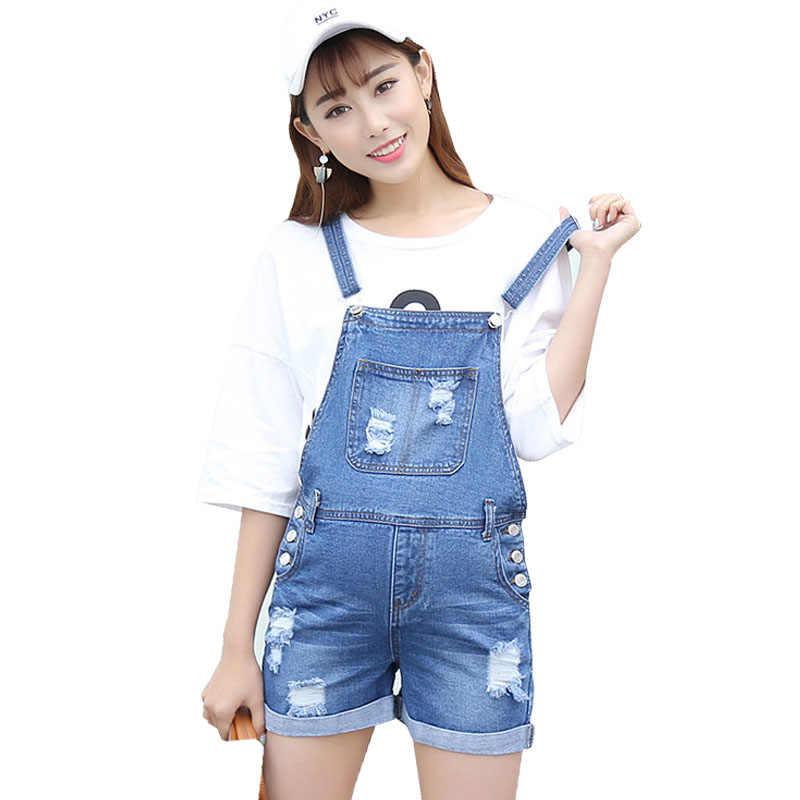 e25e276fb4f Denim Overalls Maternity Straps Shorts For Pregnant Women Clothes Prop  Belly Jeans Pregnancy Suspender Braced Jumpsuits