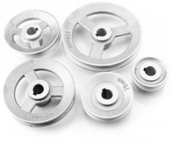 Pulley Belt pulley size of diameter 45mm 50 55  to 120mm industrial sewing machine spare parts timming Transfer wheel