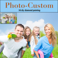 Photo Custom Diamond Embroidery Photo Custom Full Square Drill 5d Diy Diamond Painting Cross Stitch Rhinestone