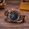 2017 Luxury Brand UWOOD Men Wooden Watch Japan Quartz Movt Analog Fashion Male Wristwatches Casual Relogio Feminino Relojes