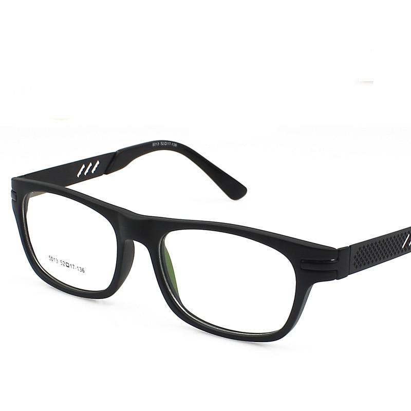 Mujeres hombres anteojos borde completo gafas de sol feminino optik ...