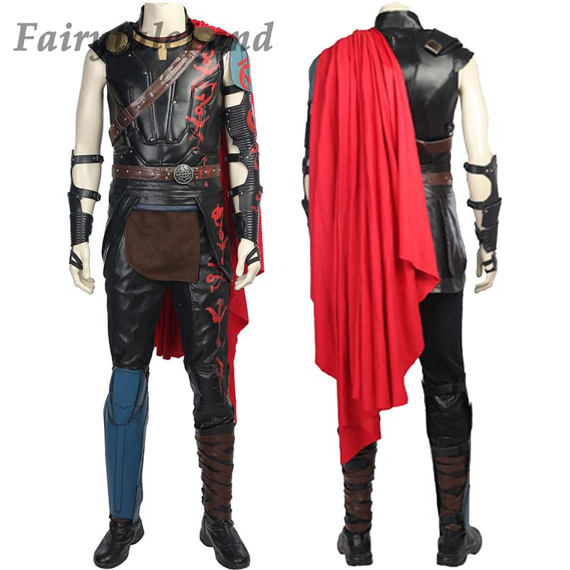 Thor Ragnarok Cosplay Costume Custom made Thor Odinson Cosplay THOR 3 Chris Hemsworth superhero costume full