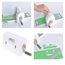 Manual Die Cutting Embossing Machine Scrapbooking Cutter Piece Machine Intellectual Development Training DIY Embossing Dies Tool(China)