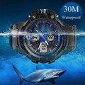 Skmei Спортивные мужские часы Известный бренд Роскошные мужские модные  повседневные светодиодные кварцевые армейские цифровые часы Мужские наручные часы Часы