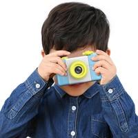1.5 inches Mini Children's digital camera cartoon small SLR fixed type video camera HD screen 200W Effective Pixels photo camera