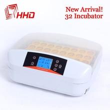 HHD новейшая лучшая ферма инкубатор 32 инкубаторы для яиц дешевая цена автоматический инкубатор для курицы перепелов Китай для продажиautomatic chickenchicken farmquail chickens  АлиЭкспресс