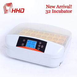 HHD Newest Best Farm Hatchery Machine 32 Egg Hatchers Cheap Price Chicken Automatic Egg Incubator China for Sale Quail Brooder