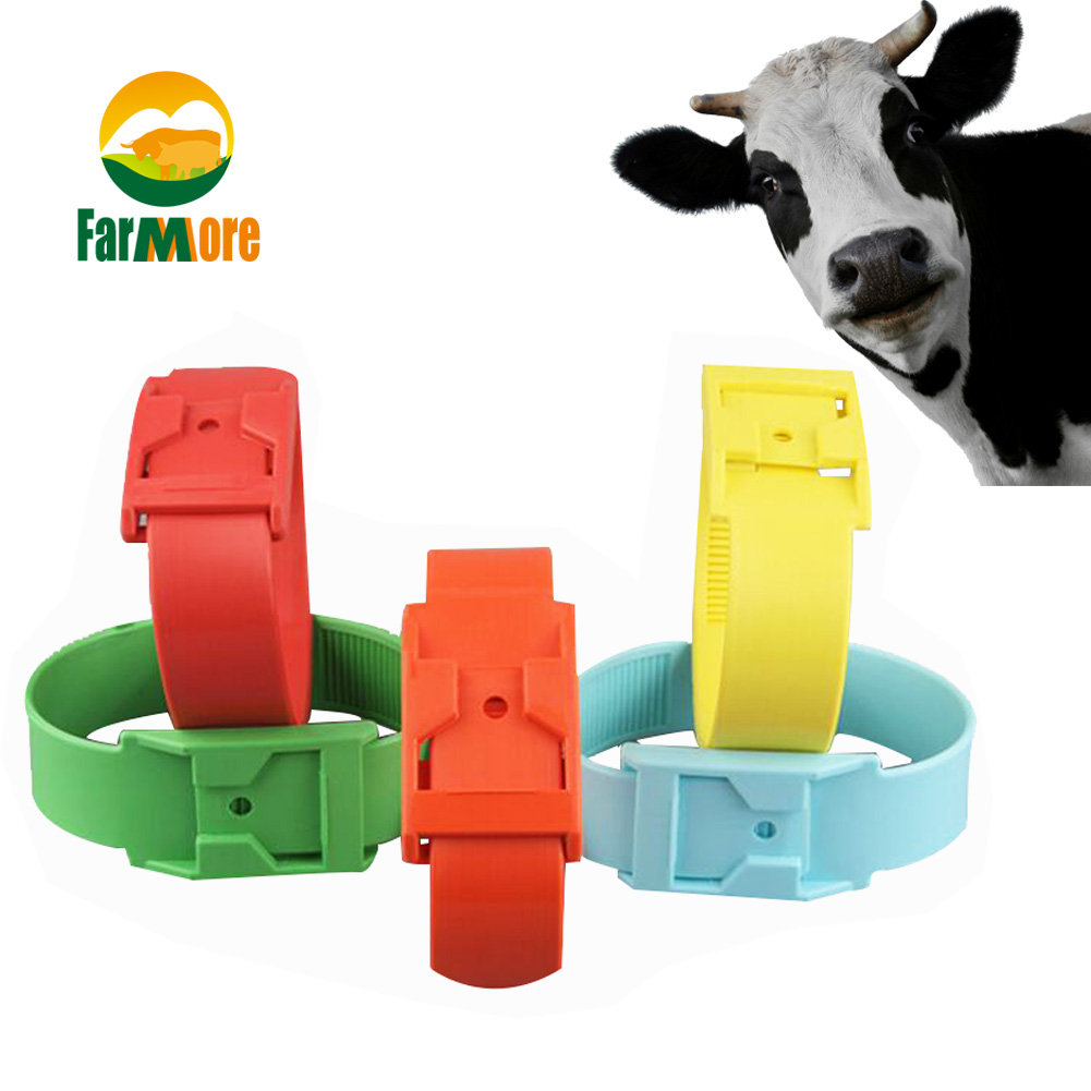 100 LEADER MARKING RINGS CASTRATION TAIL BANDING SHEEP CATTLE FARM GREEN BANDS