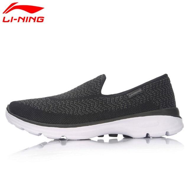 Li-Ning Men's Easy-Walker Leisure Walking Shoes Breathable Comfort LiNing Sports Shoes Sneakers ACGM017 YXB059