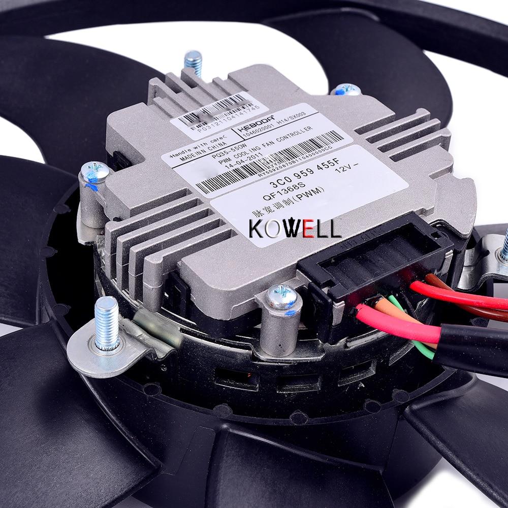 Gate Air Conditioning Cooling Fan Assembly For Vw Rabbit Jetta Golf 2011 Ac Wiring Gti Passat B6 Touran Tiguan Audi Tt A3 1k0 959 455 3c0 In Fans Kits From