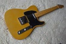 Новинка! Высокое качество желтый tele гитара американский стандарт telecaster Электрогитара запас китайский новый год будет нормальной доставкой.