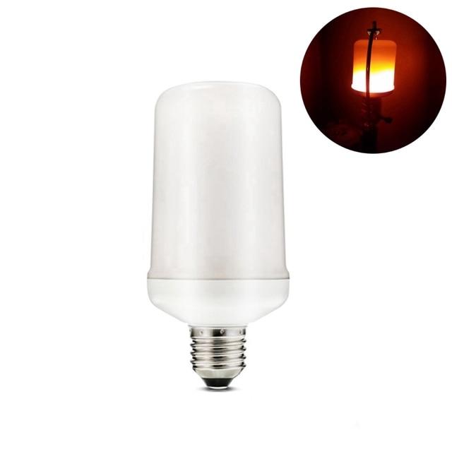 5 W LED Lamp E27 Vlam Dimbare LED Gloeilamp Flickering Ademen ...