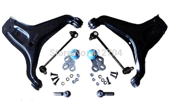8 pcs per set Car Full Suspension Kit Control Arm Use For Audi 80 With ISO Certificate 8A0407365 8A0407366 8A0407465C 811419812A