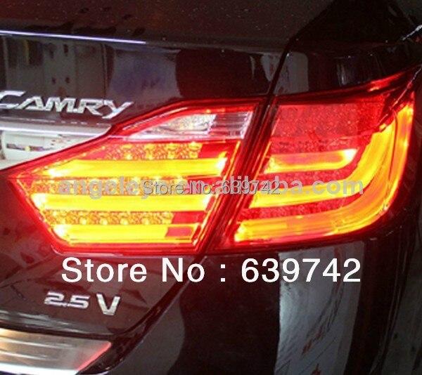 Za TOYOTA Camry Aurion LED zadnja svjetla zadnja svjetla za BMW Style - Svjetla automobila - Foto 2