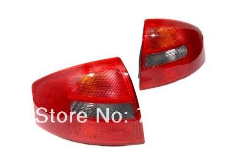 All Red Tail Light W/ Smoke Reverse Light For Audi A6 C5 цена и фото