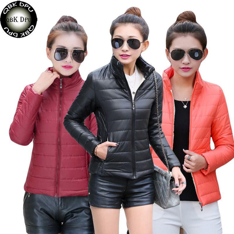 2019 New Winter Coat Women Solid Outwear Short Wadded Harajuku Snow   Parka   thickness Cotton Warm Down Jacket Plus Size Outwear