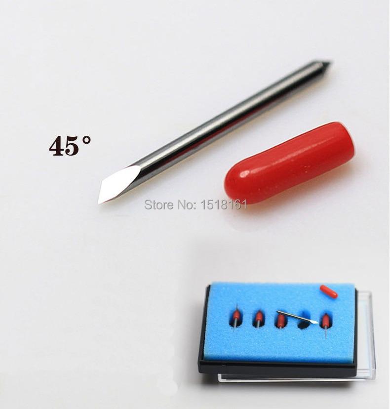 10 sztuk 45 stopni summa D ploter tnący nóż winylowy ostrze summa igła nóż nóż narzędzie
