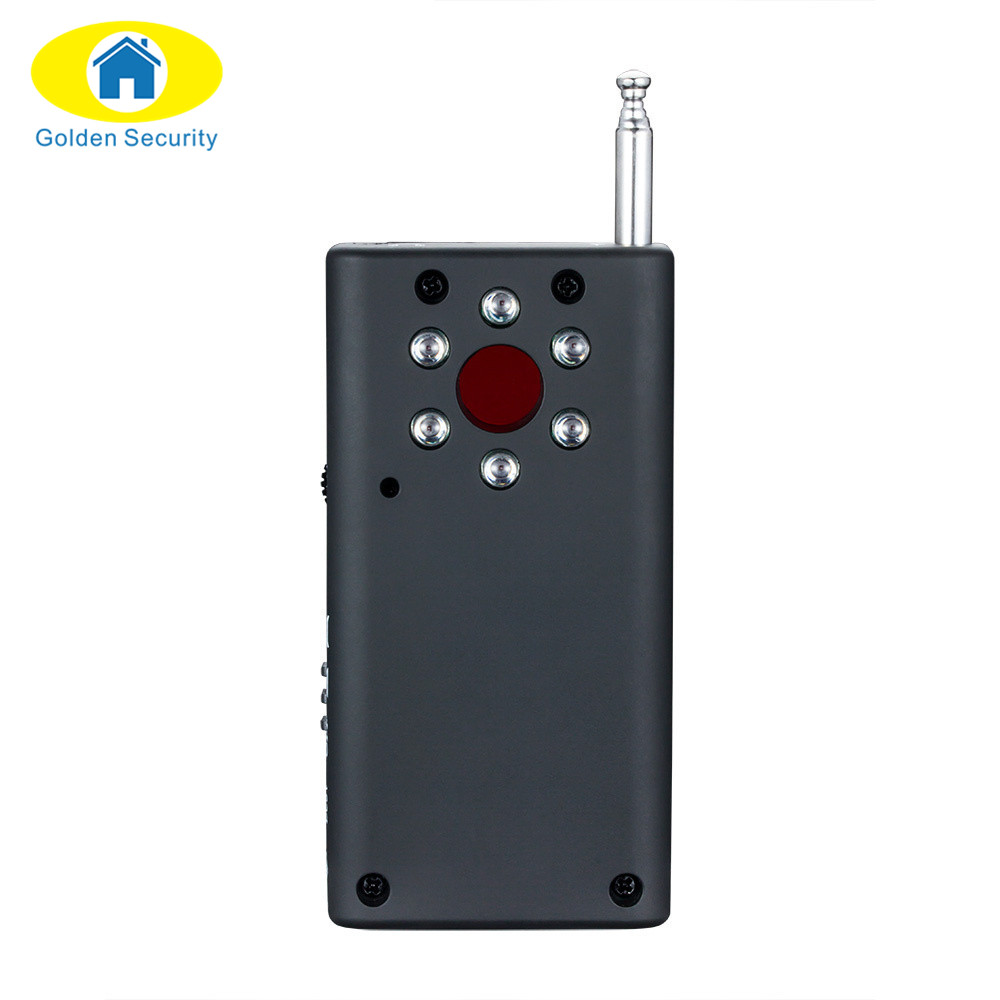 Golden Security Wireless FNR Full-frequency  GSM Device Finder Camera Laser Lens Bug Detecter RF Signal Detector 1 pcs full range multi function detectable rf lens detector wireless camera gps spy bug rf signal gsm device finder