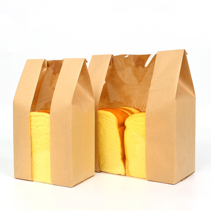High Quality Brown Paper Bread Bag