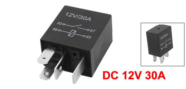 DC 12V 5 Pins 30A Automotive Changeover Relay Car Bike Relay   ^F