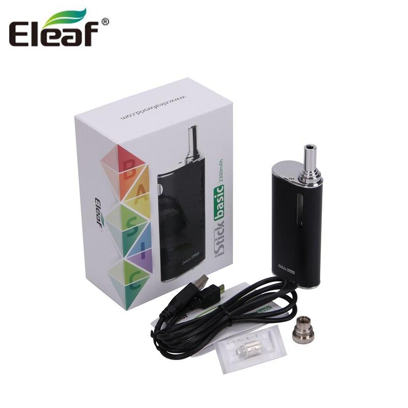 Originale Eleaf iStick kit di base con GS aria 2 atomizzatore 2300 mah istick di base della batteria