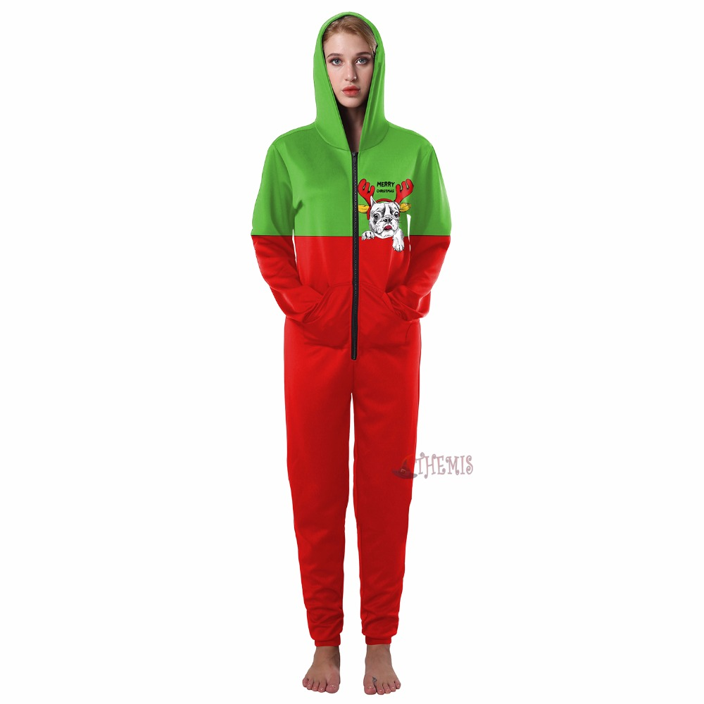 cosplay jumpsuits Christmas   Athemis  Adult style custom made The dog pattern Dress High Quality