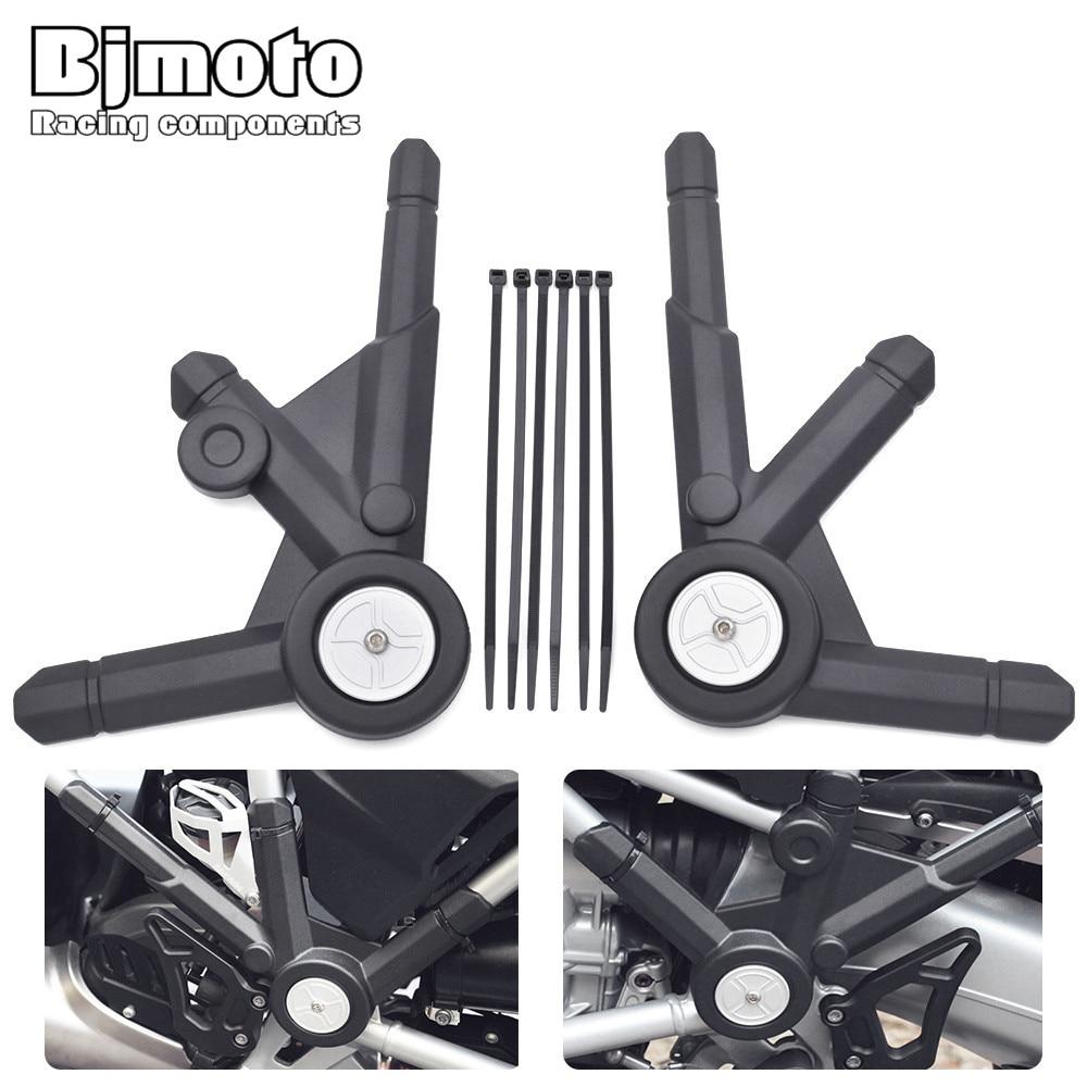 BJMOTO мотоцикл левый и правый боковые панели рамки гвардии Protector Обложка для БМВ R 1200GS ЛНР/Приключения 2013-2016