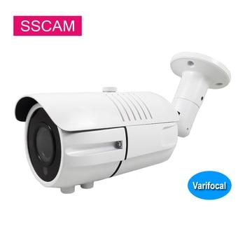 Outdoor IP Surveillance Camera 2MP 4MP 4x Zoom Varifocal Lens Network ONVIF P2P XMEye Home Security Camera 30M Night Vision 2mp 4mp full hd ptz ip camera 2 8 12mm motorized lens mini speed dome camera ip onvif 4x zoom p2p 30m ir night vision