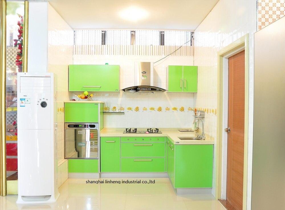 Mélamine/mfc armoires de cuisine (LH-ME060)