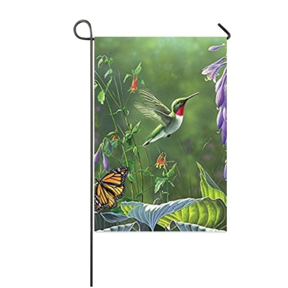 18 Magical Christmas Yard Decorations: Bai Hummingbird & Hosta Colorful Garden Yard Decorations