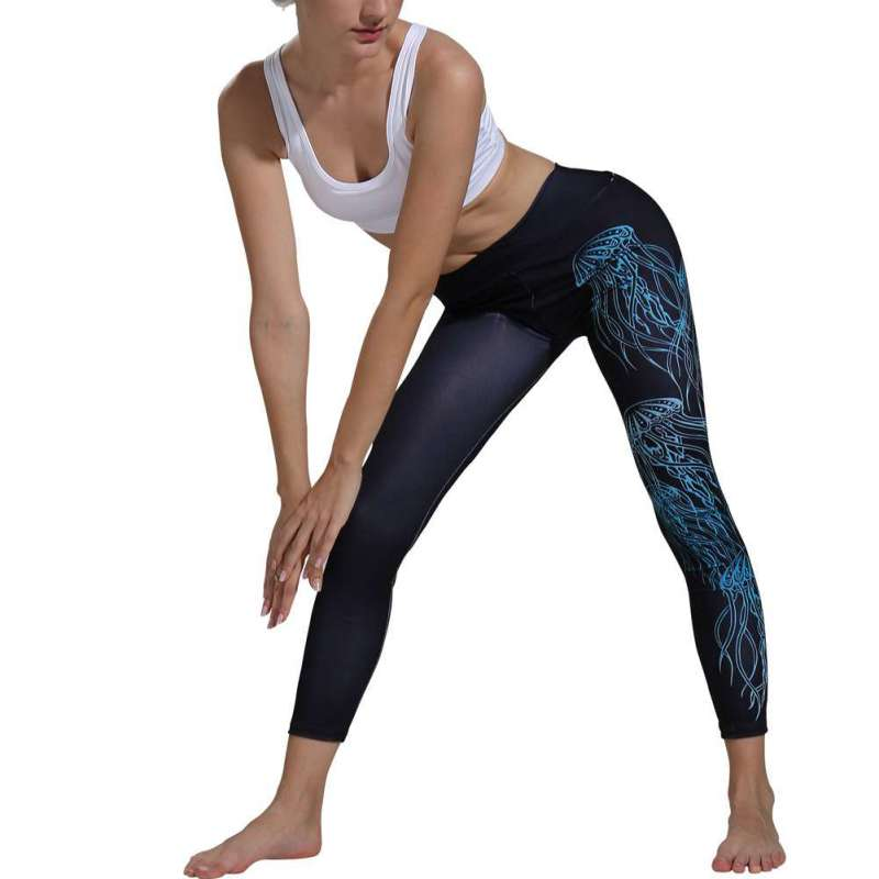 High Elastic Skinny Print Legging Slimming Women Leggings Women Leisure Pants(China)