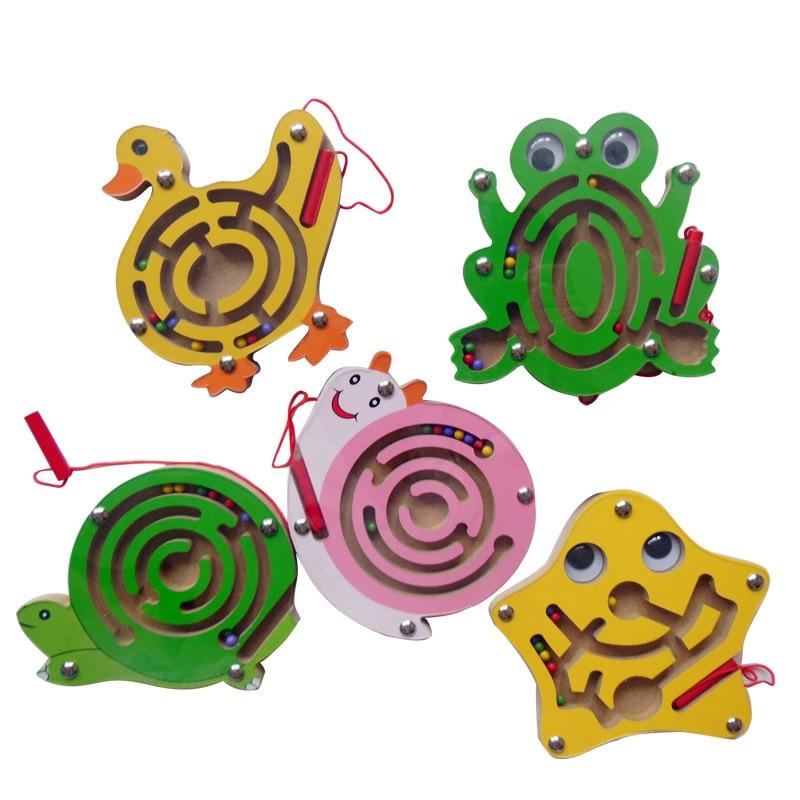 Labyrinthe mini maison billes dessin animé billes jouets intellectuels pour enfants