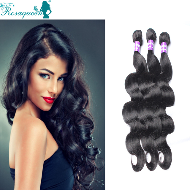 3 Pcs Cambodian Body Wave Virgin Hair 6A Cambodian Virgin Hair Body Wave 100% Human Hair Weave Rosa Queen Hair Body Wave Bundles