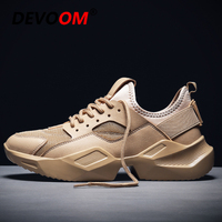 Branded Mens Trainers 2019 Men's Shoes Casual Shoes Fashion Sneakers Homme Shose Summer Breathable Mesh Shoos Men Dad Footwear