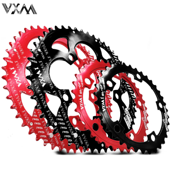 VXM Road Bicylcle 110BCD 35/50T Oval Chainwheel Kit Bike 7075-T6 Alloy Ultralight Ellipse Climbing Power Chainring Plate image