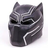 Marvel Super Hero Black Panther Adult Helmet Hallowmas Party Cosplay Mask PVC Figure Toy 1:1