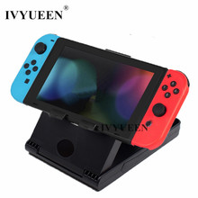 IVYUEEN Anti-Slip Compact Playstand for Nintend Switch NS Console Multi-angle Adjustable Stand Holder Dock Game Accessories(China)