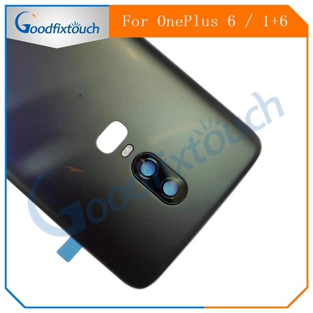 best website e7392 ebd1c US $36.96 |For Oneplus 6 Back Battery Cover Rear Door Housing Case For One  Plus 6 Replacement Parts-in Mobile Phone Housings from Cellphones & ...
