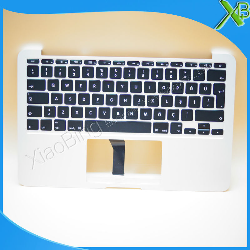 New TopCase with TR Turkish Turkey Keyboard for MacBook Air 11.6 A1465 2013-2015 years new topcase with no norway norwegian keyboard for macbook air 11 6 a1465 2013 2015 years