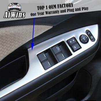 Car door Rear view mirror adjustment button Panel Door handle Trim Car-Styling For Honda CRV 2012-2016 decorate accessories