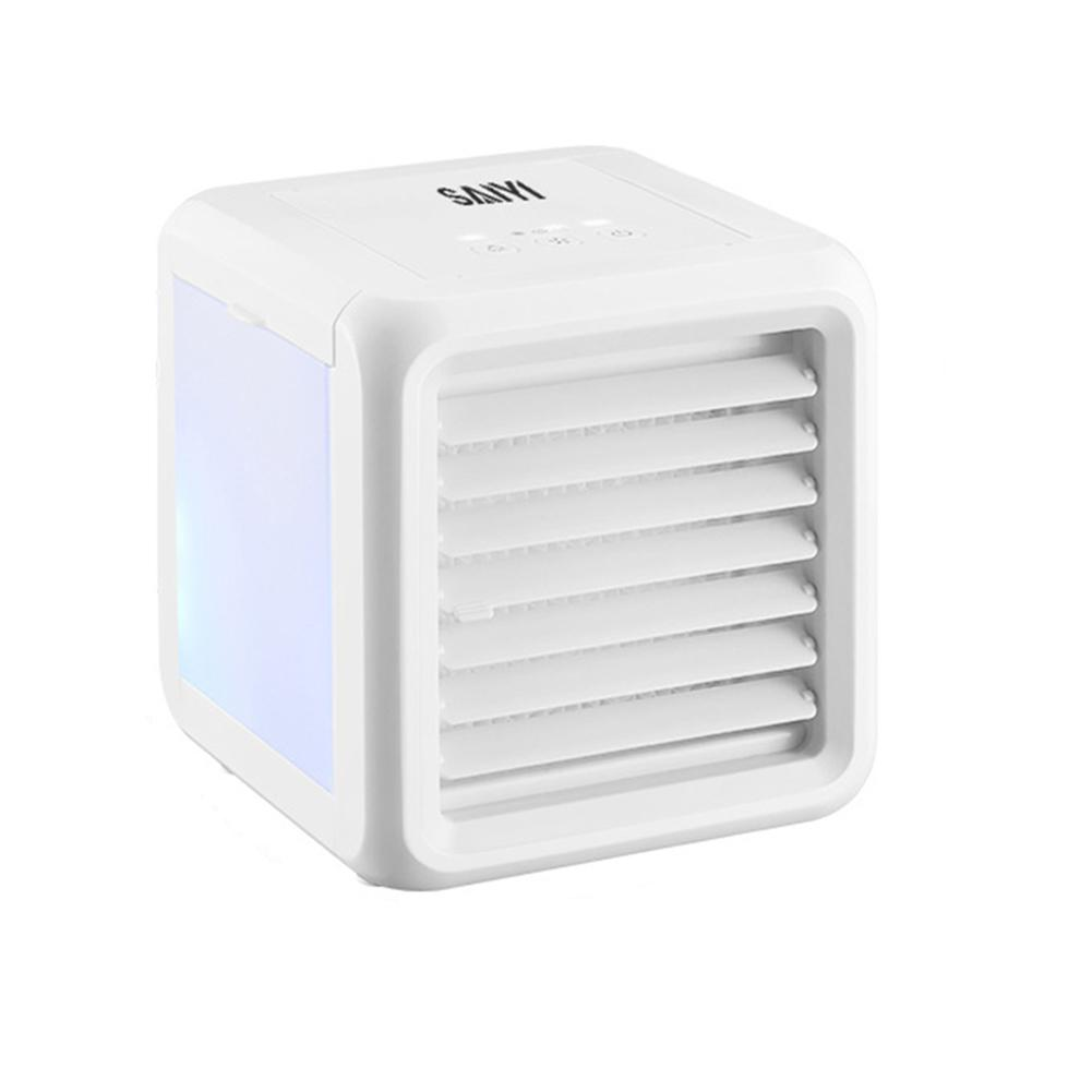 Car Appliances Arctic Fresh Air Cooler Air Conditioning Summer Air Cooling Fans LED 7-color Home Office USB Fan Conditioners