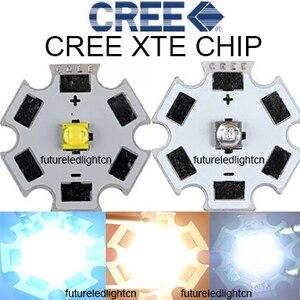 10pcs X Cree XTE 5W LED Neutral White 4500-5000K Royal Blue CREE XT-E 1-5W high power with 20MM PCB for aquarium grow(China)