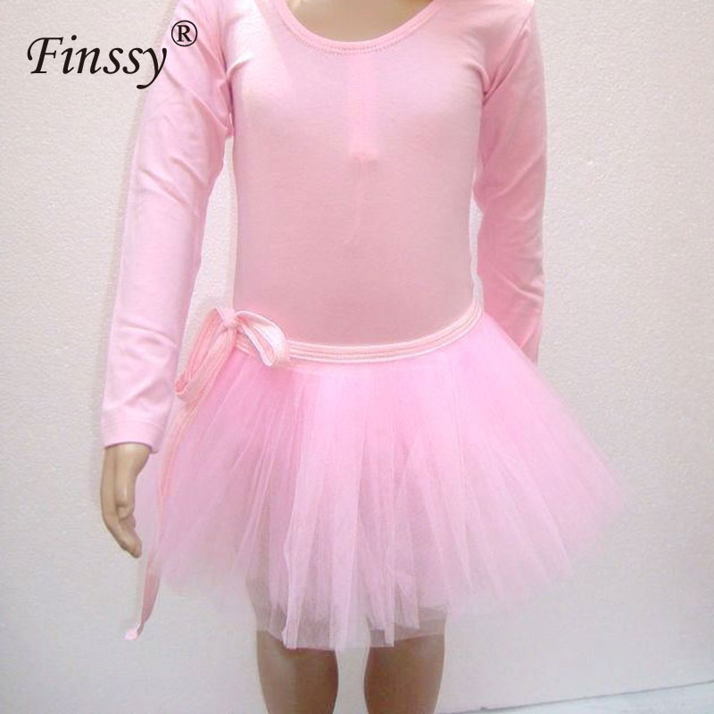 Girls Ballet Skirt 3 Layers Mesh Tulle Tutu Short Skirts Kids Children Athletic Gymnastics Costumes Dance Wear Bottom