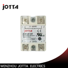 цена на SSR -80DD DC control DC SSR white shell Single phase Solid state relay 80A input 3-32V DC output 5~60V DC