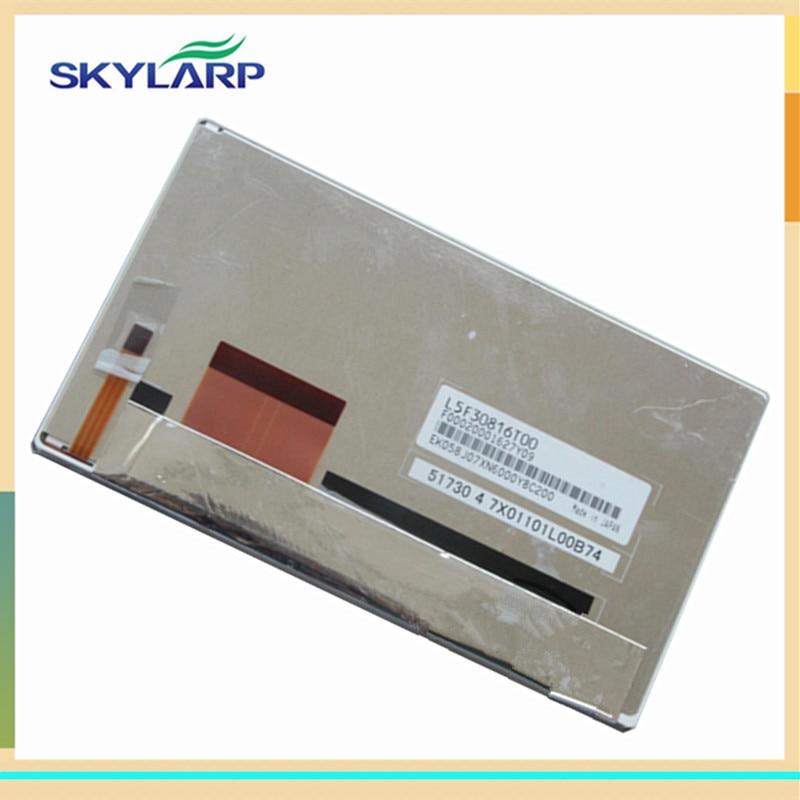 skylarpu for L5F30816T02 L5F30816T04 L5F30816T00 GPS LCD screen panel (without touch) original 5 8inch tm058jfhg01 00 fpc1 02 tm058jfhg01 00 fpc1 tm058jfhg01 00 tm058jfhg01 lcd screen free shipping