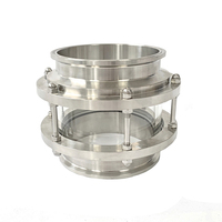 Clamp 6 (154mm) Flange OD167mm Short Sight Tower , Sight glass.