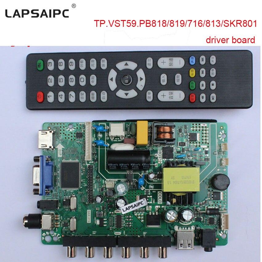 TP.VST59.PB8188/819/716/813/SKR801 Driver Board Support High Score Screen 1920X1080 10-42 Inch LVDS Screen