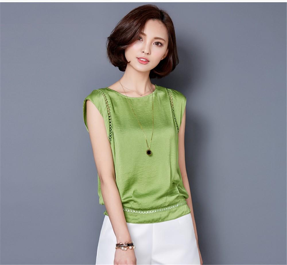 Big Size M-3XL Luxury Chiffon Tank Top For Women Summer Fashion Crop Tops Women\'s Sleeveless Tank Vest Tops Lady Sexy Camis (25)