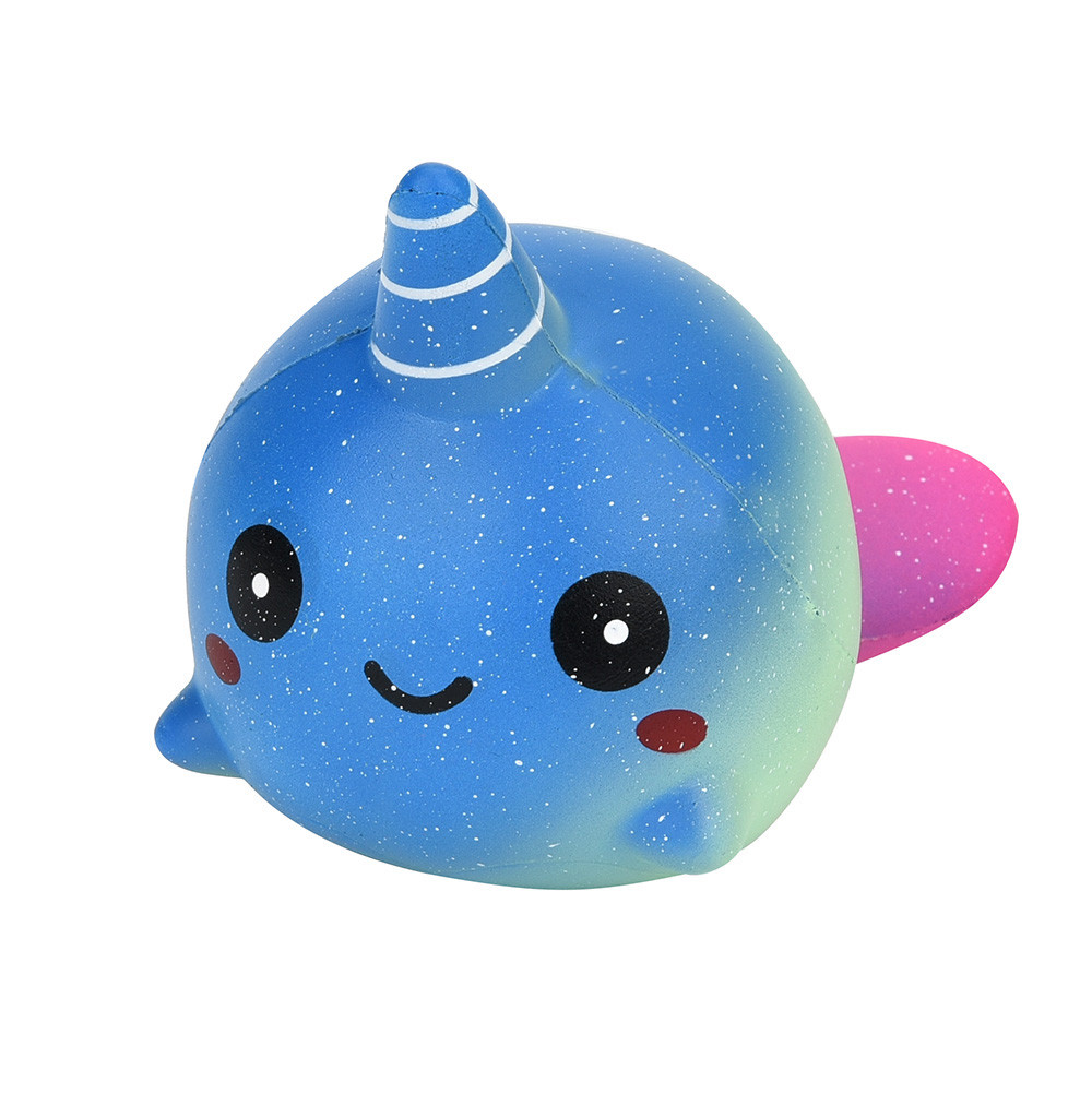 Exquisite Fun Big Whale Scented Squishy Charm Slow Rising 12cm Simulation Toy Antistress Slime toys Anti stress